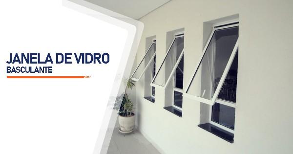 Janela De Vidro Basculante RJ