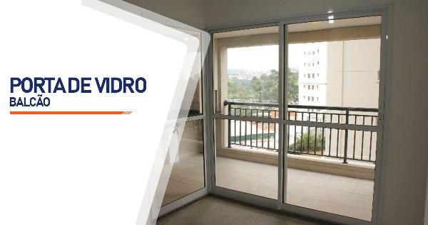 Porta Balcão De Vidro RJ