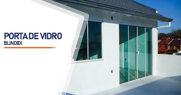 Porta De Vidro Blindex RJ