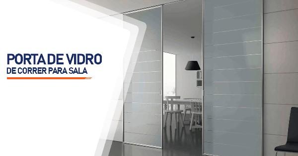Porta De Vidro De Correr Para Sala RJ