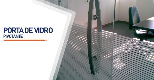 Porta Pivotante De Vidro RJ